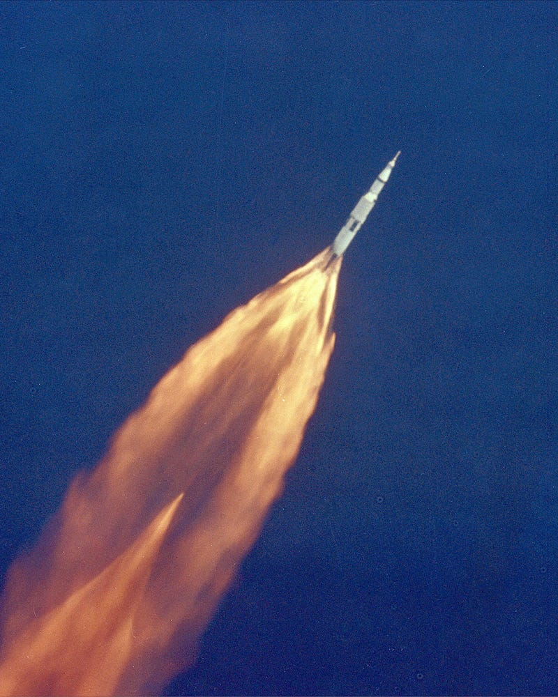 The Apollo 11 Launch Wasn't Just Historic, It was Beautiful