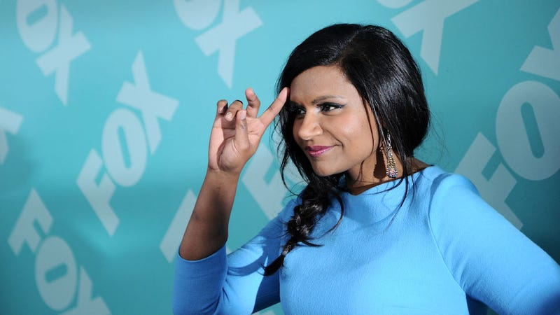 Mindy Kaling Formulates the Best Reason for Inventing a Time Machine