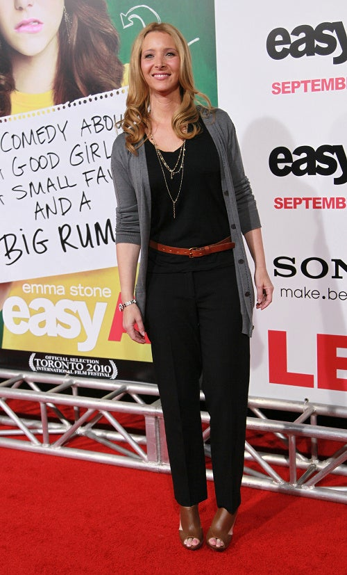 High Grades For Easy A Red Carpet