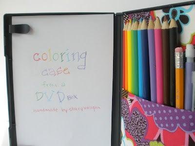 Parent Hack: Portable Coloring Case