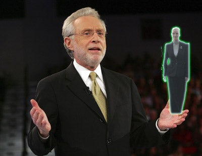 Wolf Blitzer Will Speak With The Jedi Council