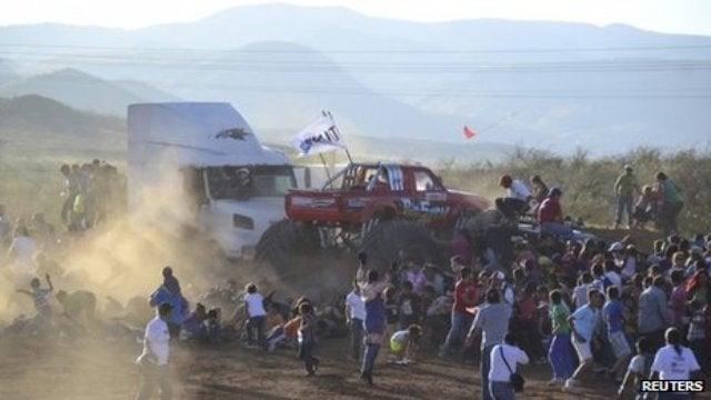 Mexican Monster Truck Crash.
