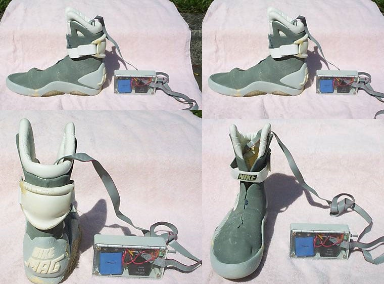 Real McFly 2015 Prototype Shoe from Back to the Future, Part II Available on eBay