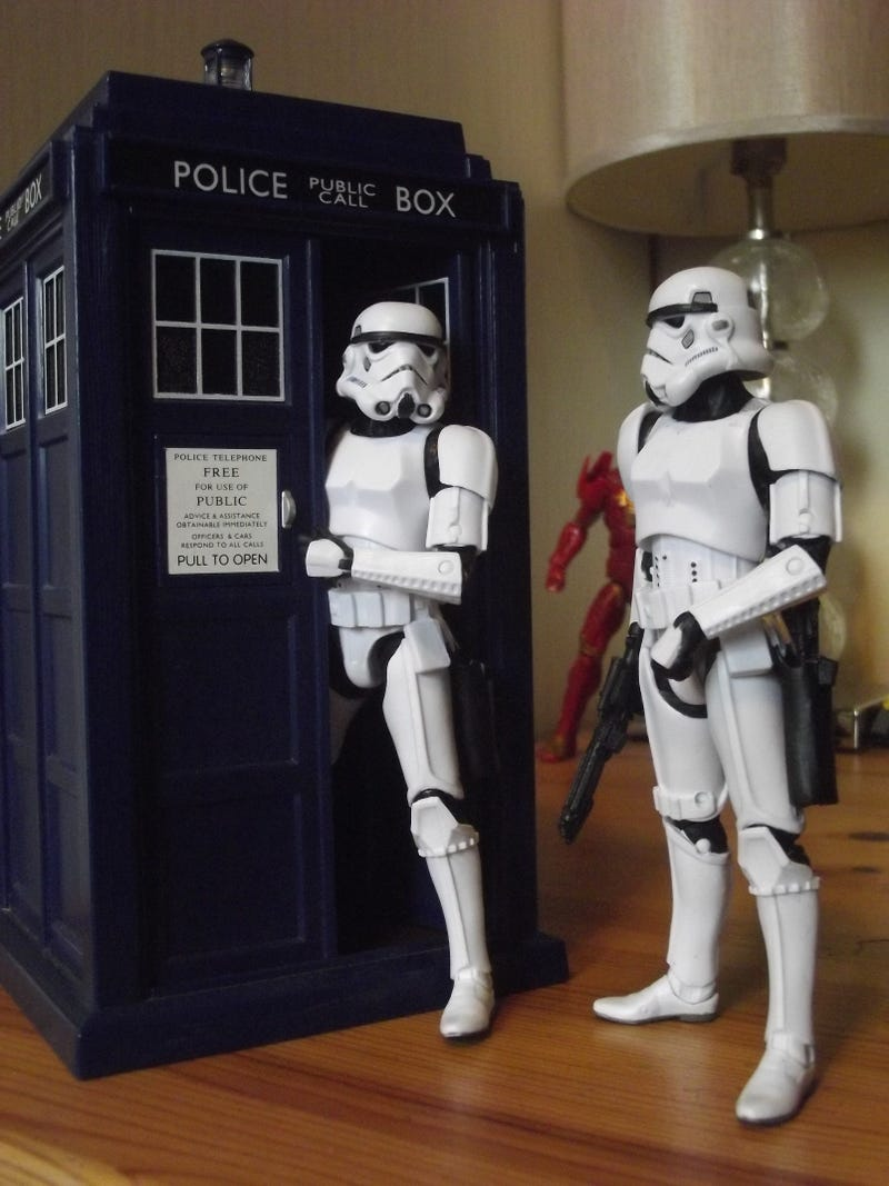 The constant beauty of a Stormtrooper Action Figure