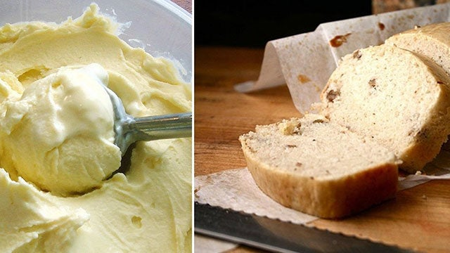 Turn Ice Cream into a Loaf of Sweet Bread