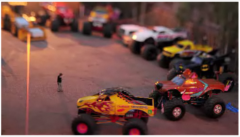 Tilt-Shift Video Makes Demolition Derby Look Even Sillier