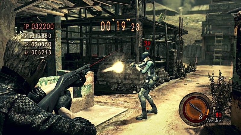 Capcom Confirms, Prices Versus Mode for Resident Evil 5