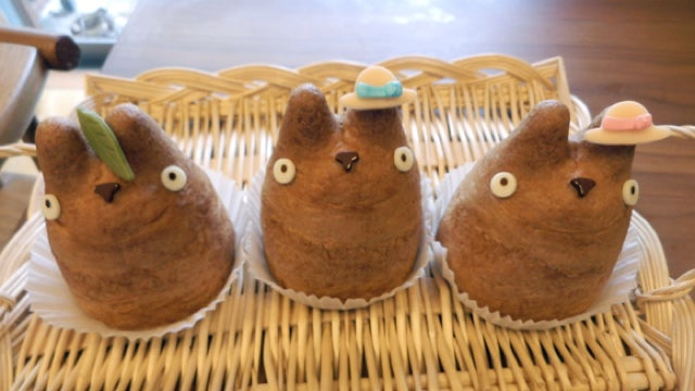 These Totoro Cream Puffs Are Cute Enough to Eat. Literally.