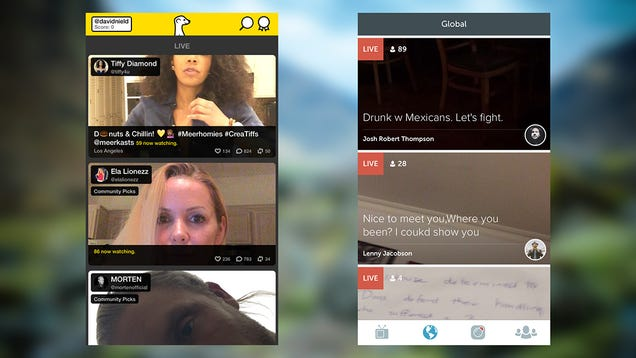 Where to Find the Best Live Streams on Meerkat and Periscope