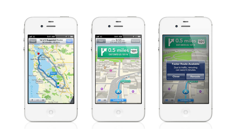 Apple Has Its Own Killer Maps with Turn-by-Turn Navigation, 3D, and Tons More