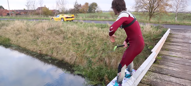 The Cops Are Looking Into The Ferrari F50 Wakeboarding Video