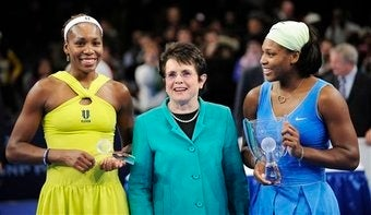 """Billie Jean King On """"Grunting""""; Centre Court Comeliness"""