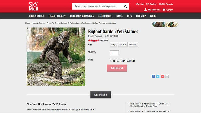 SkyMall's Time-Wasting Shopping Catalogs Are Dying