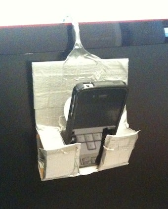 DIY Smartphone Video Chat Hanger