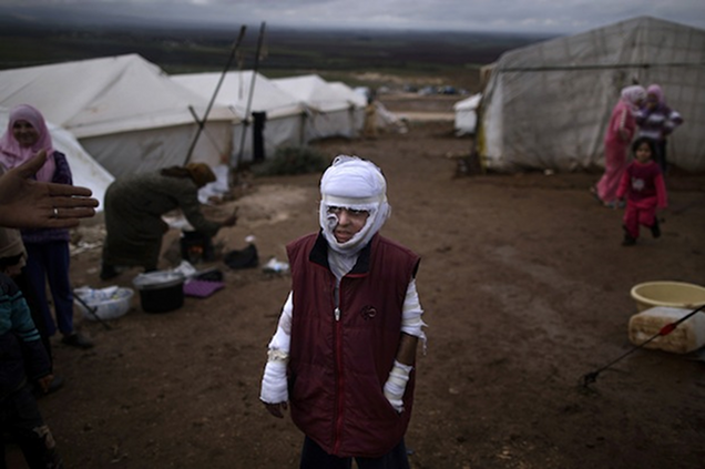The 2013 Pulitzer Prize-Winning Images of the Syrian Civil War