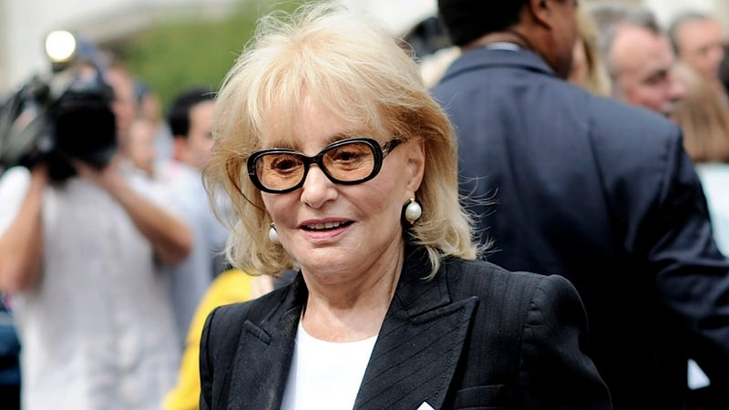 Barbara Walters Hospitalized After Falling and Cutting Her Forehead
