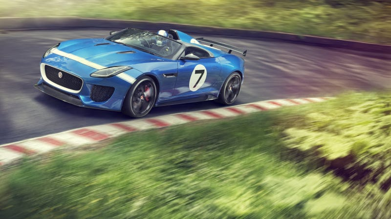The Jaguar Project 7 Is A Smoking Hot Roadster For One