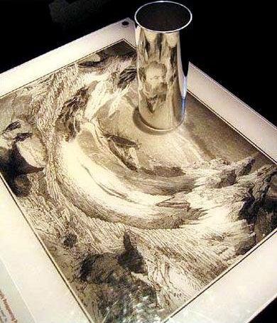 Reflective Art Gallery