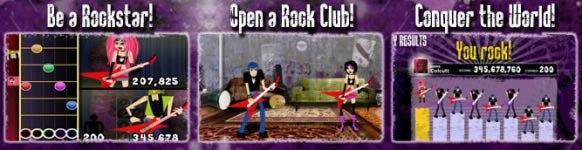 Acclaim Unveils Free Browser-Based Rock Game Rockfree