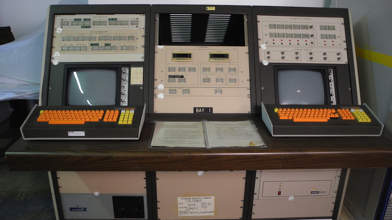 Holy crap, somebody's selling a Hubble Telescope control console on eBay