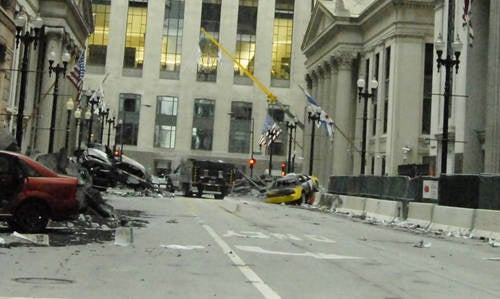 Transformers 3 Set Pics