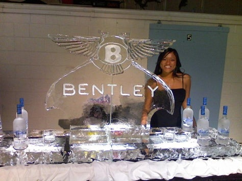 Undercover as a Bentley Customer, All Ice Sculptures All the Time