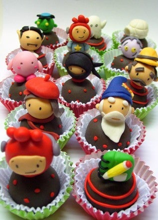 Writing 'Sweets' Summons Scribblenauts Truffles