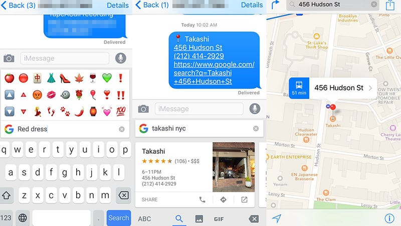Google's New Search-Based iOS Keyboard Makes Texting Way Easier
