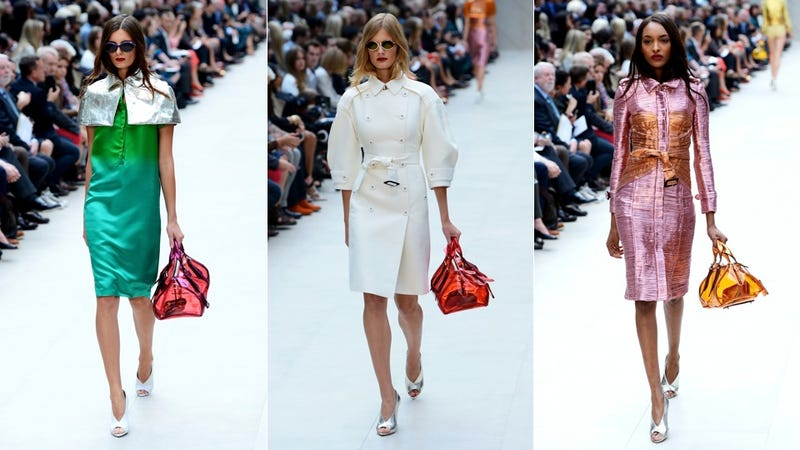 Burberry, for the Crinkly Candy Wrapper-Loving, Trouser-Eschewing Ladylike Lady in You
