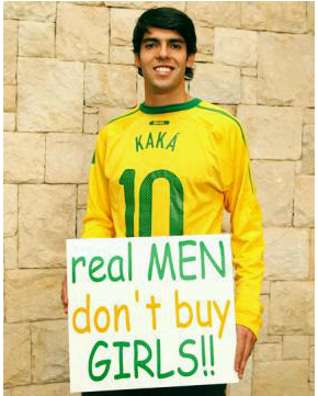 Kaká Thinks Men Who Buy Whores Deserve A Red Card