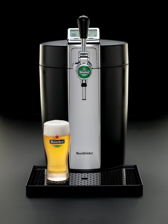 Heineken Beertender Finally Getting US Launch