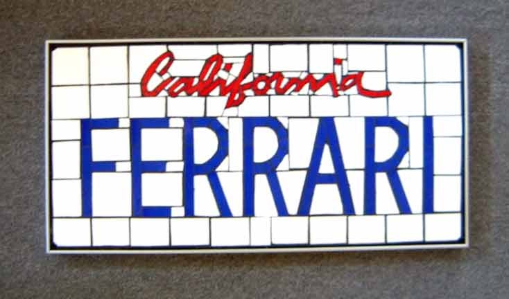 How many FERRARI and LAMBO plates are actually on Ferraris and Lamborghinis?