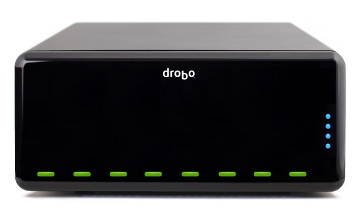 DroboPro Squeezes In 8 Networked Drives, 16TB of Data