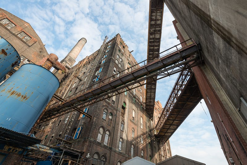 The last look inside Domino's iconic sugar refinery before demolition