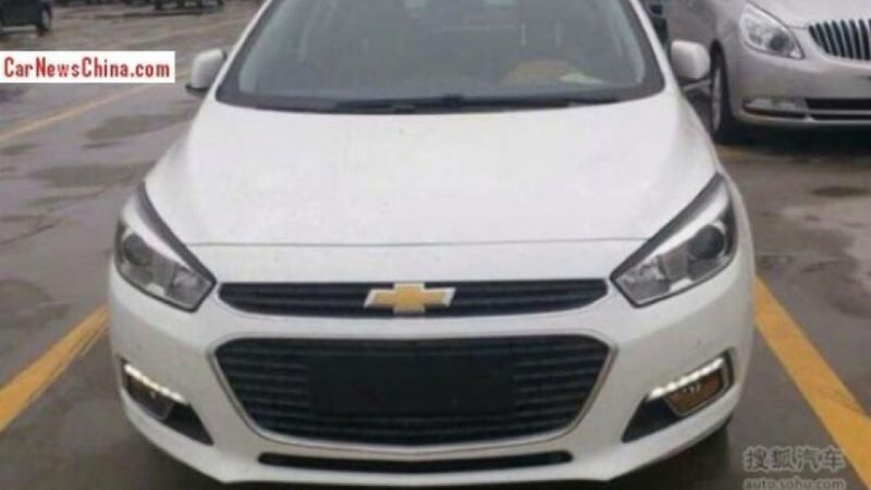 The Front Of The New Chevy Cruze Will Be Engineered For Lots Of Badges