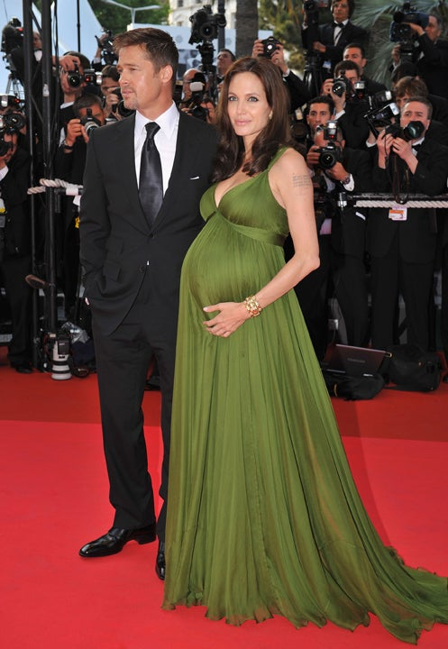 Saint Angelina, Brad & The Twins Hit Cannes