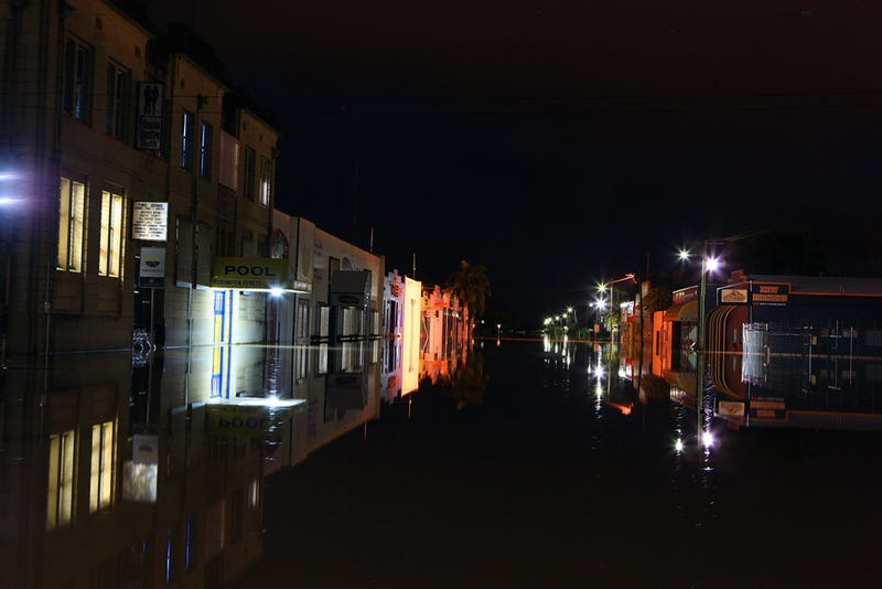 Flooding by Night