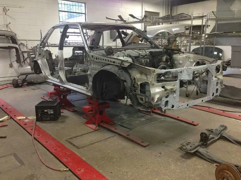 Remember Alfred Morris' 1991 626 that Mazda was going to restore?