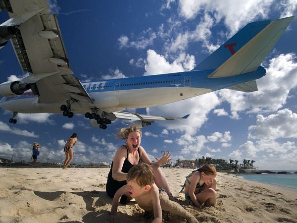 That Bastard In The 747 Destroyed My Sand Castle