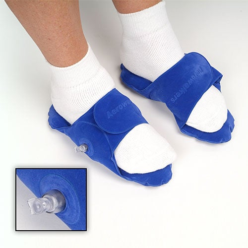 Inflatable Foot Cushions Claim To Make Your Legs Studly; Does Nothing For the Ladies