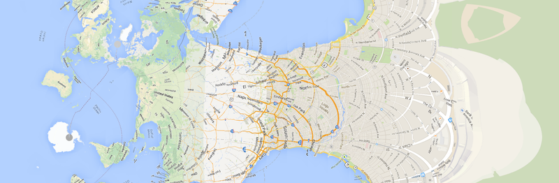 Distort Geography in Amusing Ways with This Mercator Map Generator