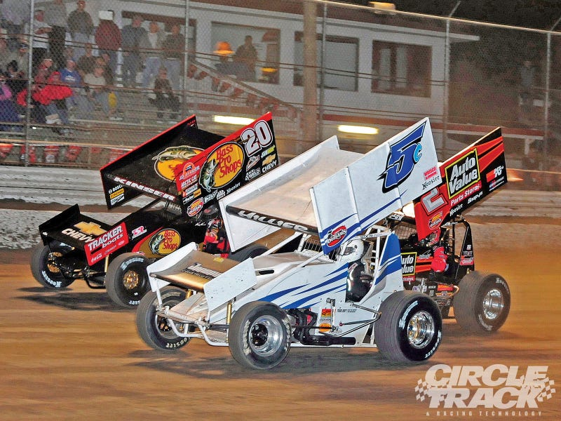 Heading to the dirt oval tomorrow