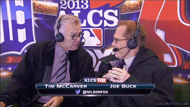 Joe Buck Is So Sick Of This Shit