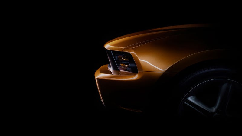 This Week's 2010 Ford Mustang Teaser