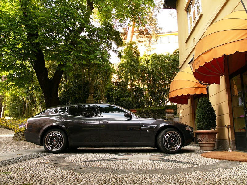 Maserati Quattroporte Bellagio Fastback Touring: The Ultimate Station Wagon