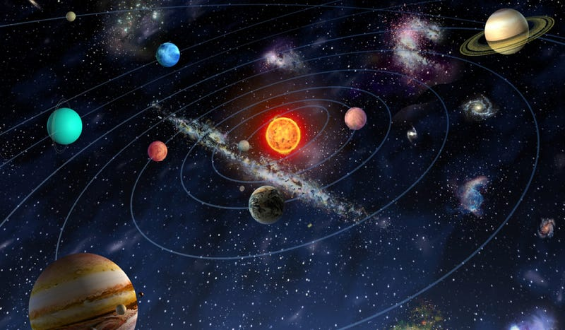Does our solar system have a special connection to the structure of the universe?
