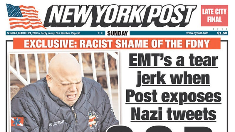 Racist EMT Cries Like a Baby When Confronted About Being Racist