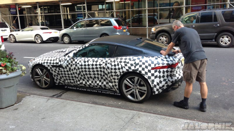 The Jaguar F-Type Coupe Is In America, Can You Find It?