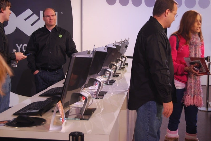 Touch a Dell, Meet a Celebrity (Not Other Way Around) at Dell Holiday Store in NYC