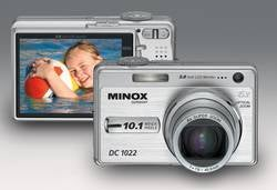 Minox DC-1022: Compact 10-Megapixel Camera with VFM and Carry Strap